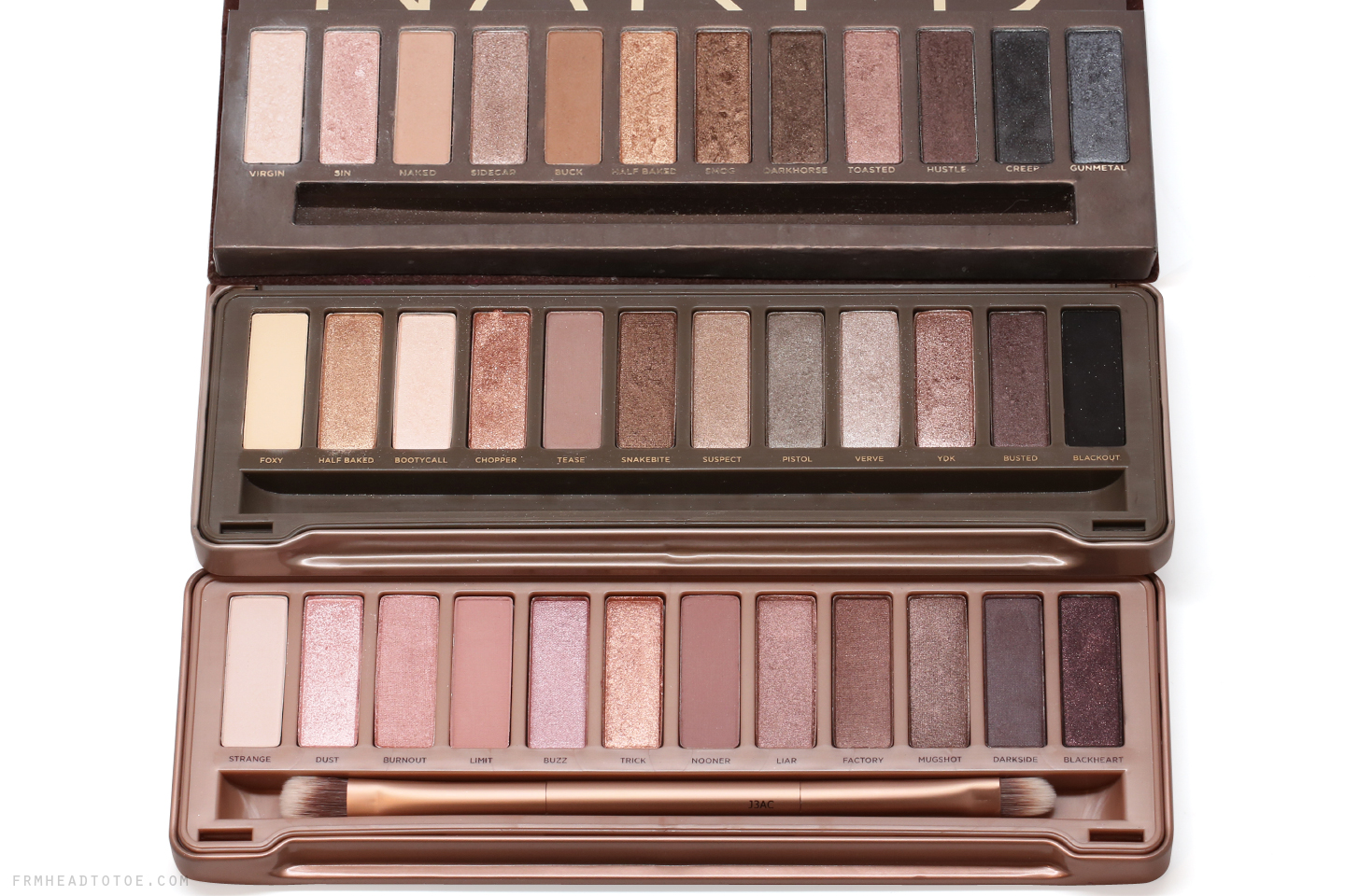 urban decay naked 3 palette comparisons naked naked 2. Black Bedroom Furniture Sets. Home Design Ideas