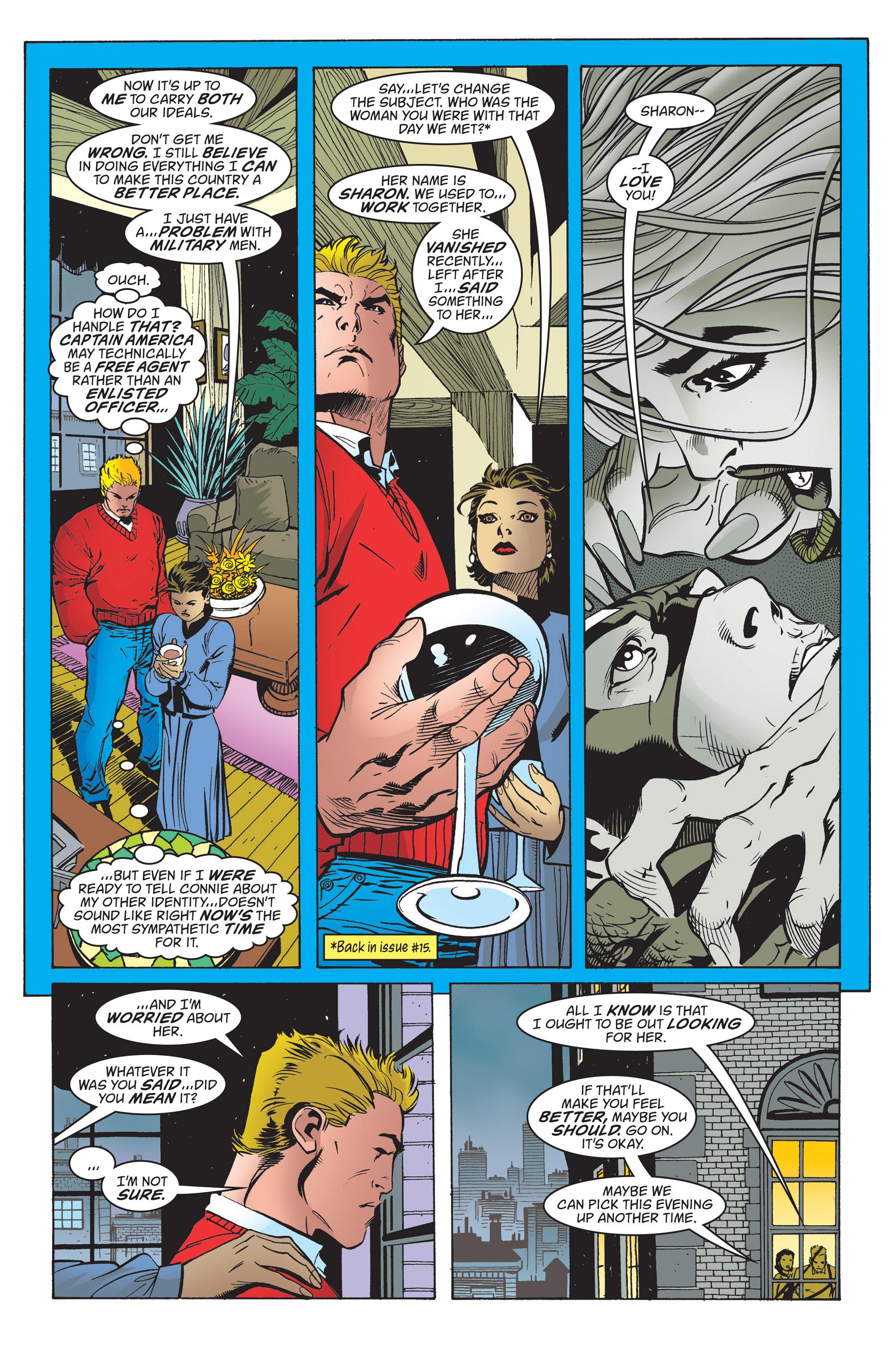 Captain America (1998) Issue #20 #26 - English 7