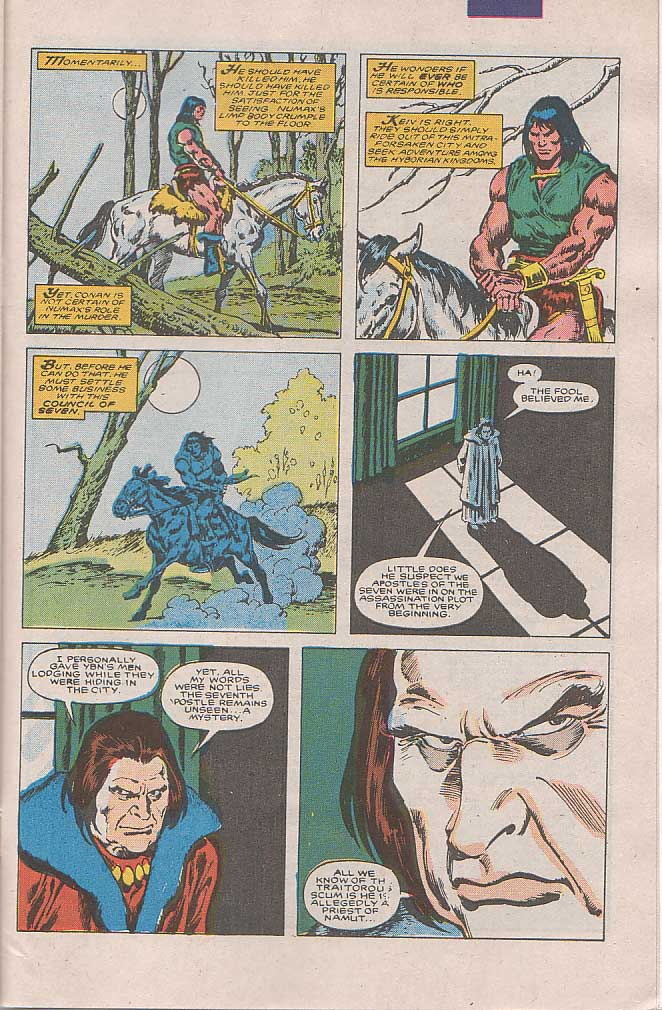 Conan the Barbarian (1970) Issue #189 #201 - English 20