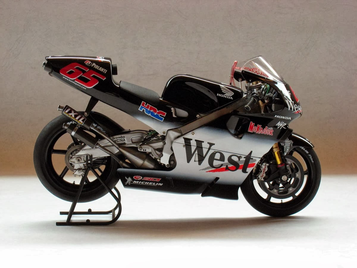 racing scale models honda nsr 500 l capirossi 2001 by luyan wen. Black Bedroom Furniture Sets. Home Design Ideas