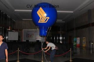Balon Udara Promosi Singapore Air lines