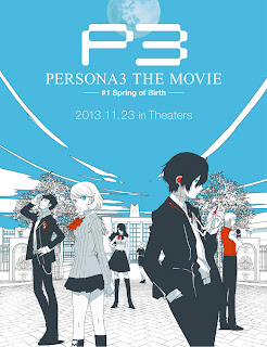 persona 3 the movie 1 spring of birth poster Persona 3 the Movie   #1 Spring of Birth   Poster, Artwork, Screen Captures, & Trailer