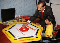 Math Carrom by Magical Methods