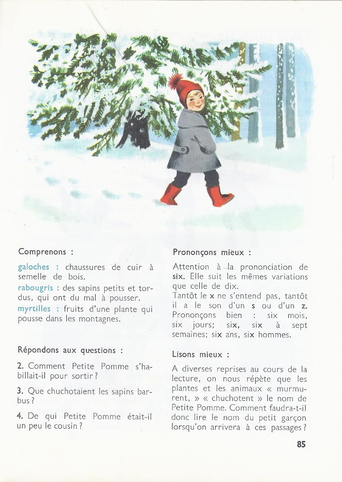 Favorit école : références: Le Noël de Petite Pomme (René Jacquenet) HB69
