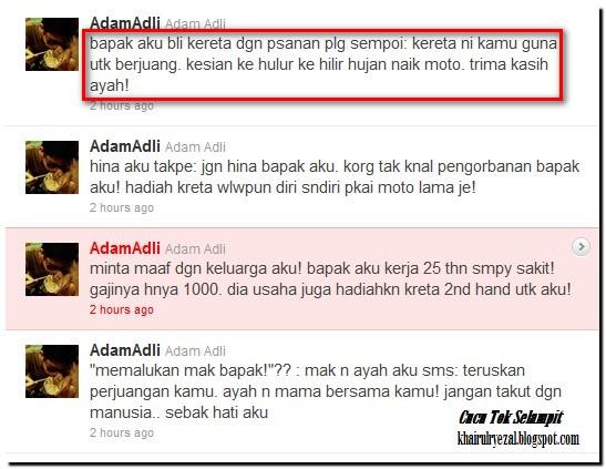 cerita sedih pelajar solidariti mahasiswa malaysia smm adam adli