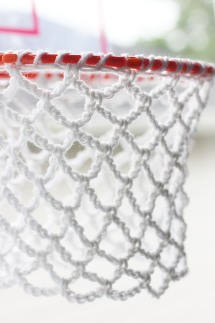 Crochet Net : Repeat Crafter Me: Crochet Basketball Hoop Net