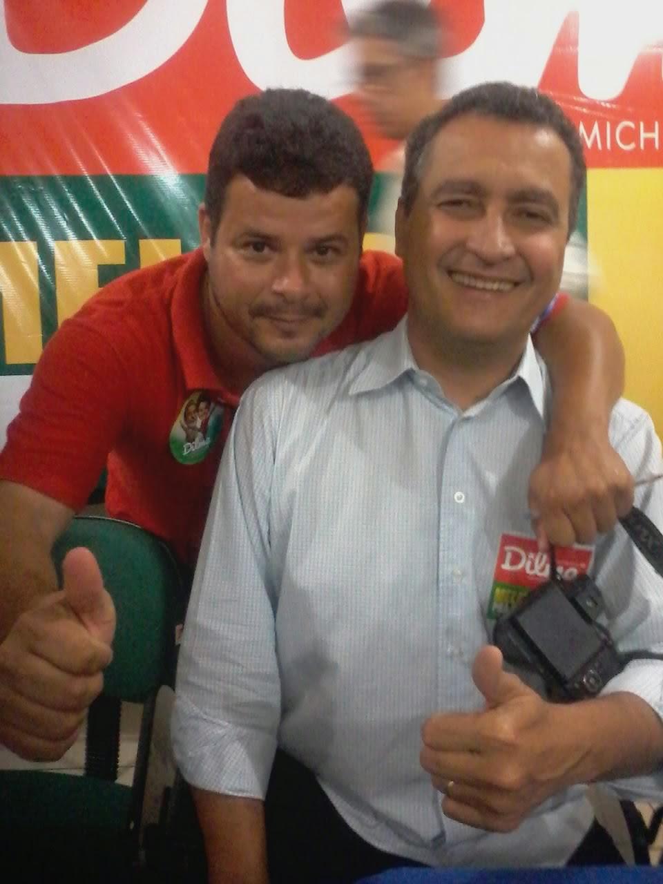 GOVERNADOR RUI COSTA AMIGO E PARCEIRO DESTE BLOG