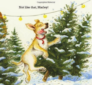 sample page #2 of bookcovesample page #2 from CHRISTMAS IS COMING, MARLEY (Board Book) by John Groganr of Christmas Is Coming, Marley (Board Book) by John Grogan
