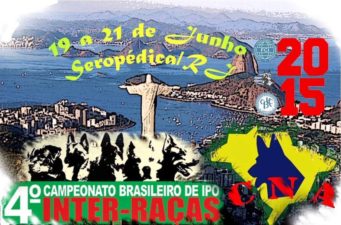 Campeonato Brasileiro de IPO CBKC 2015 e Campeonato Nacional de Adestramento SBCPA 2015