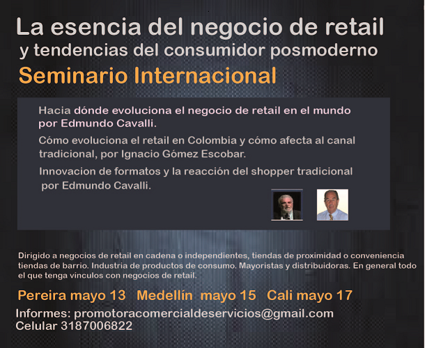 Importante conferencia de retail en Colombia