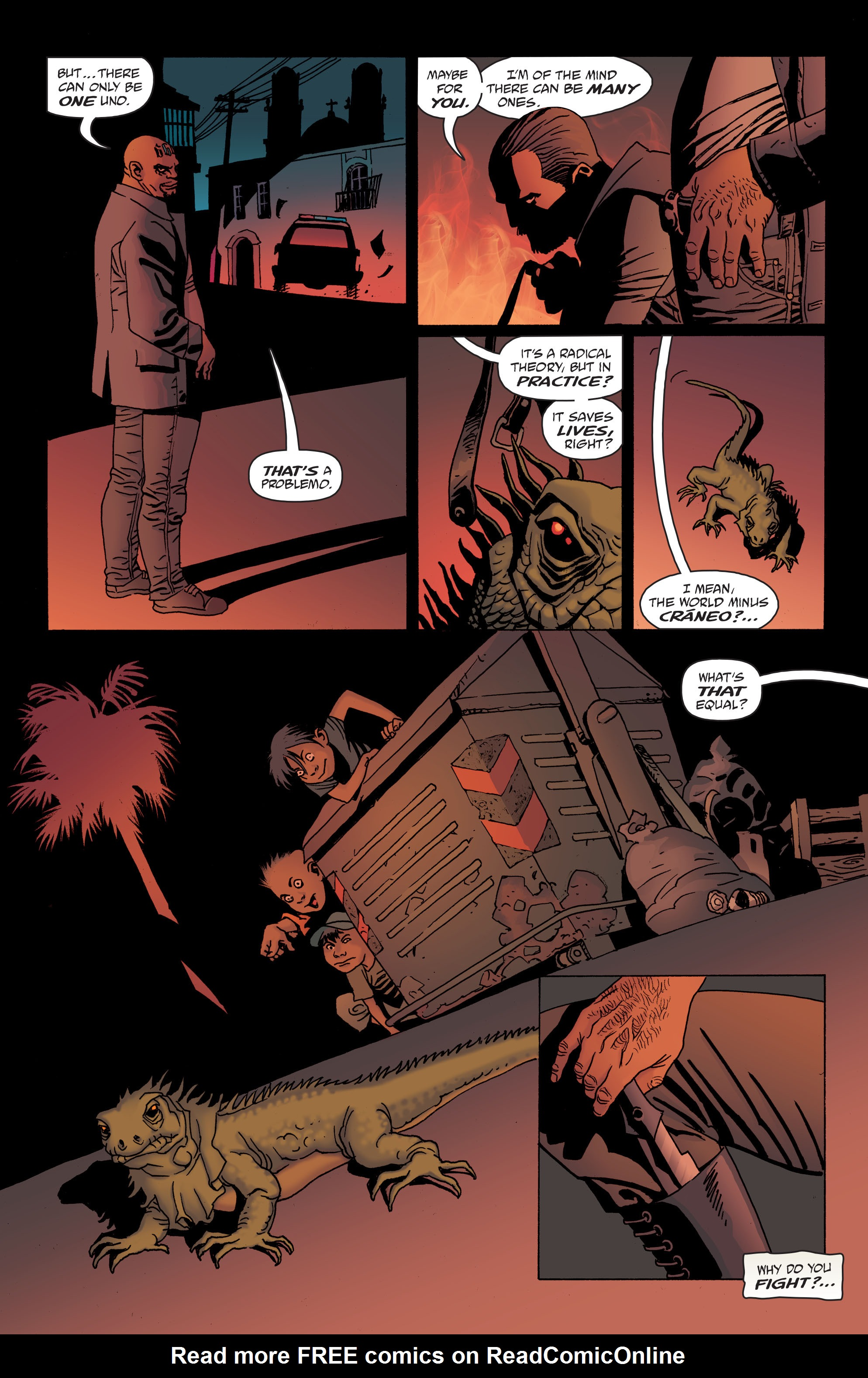 100 Bullets: Brother Lono Full Page 96