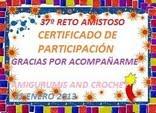 CERTIFICADO DE PAQUI POR PARTICIPAR DEL RETO Nº 37