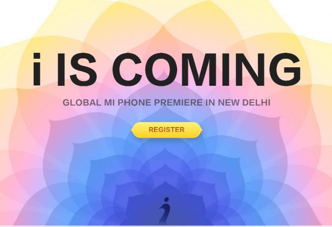 Global Mi Phone Premiere