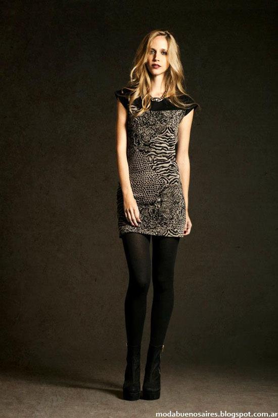Otoño invierno 2013 vestidos cortos