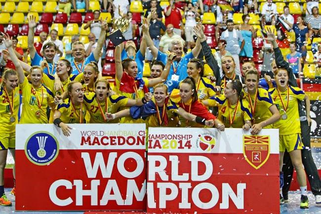 Handbal de mondiale la Craiova 4 Dec