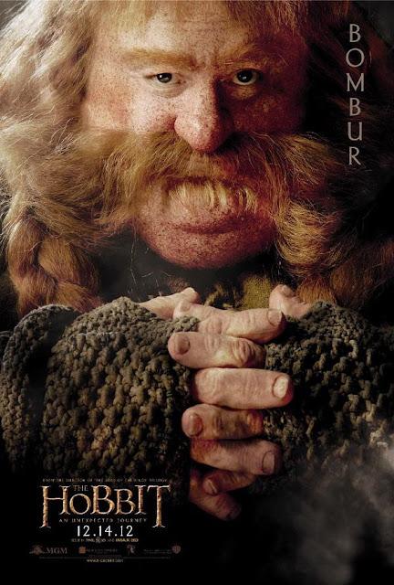 the hobbit, character poster, bombur