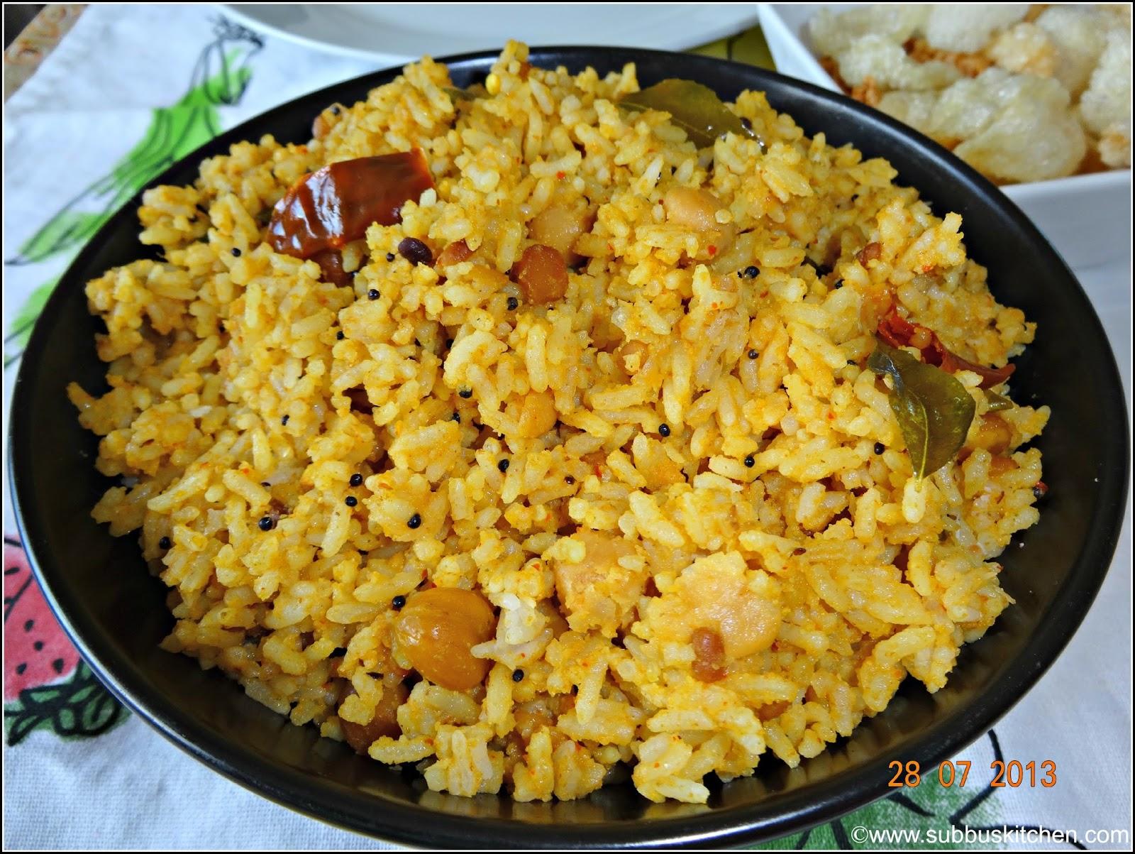 Pulikachal Recipe Subbus Kitchen