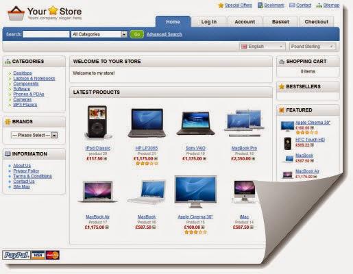 Cara mudah buat kedai online