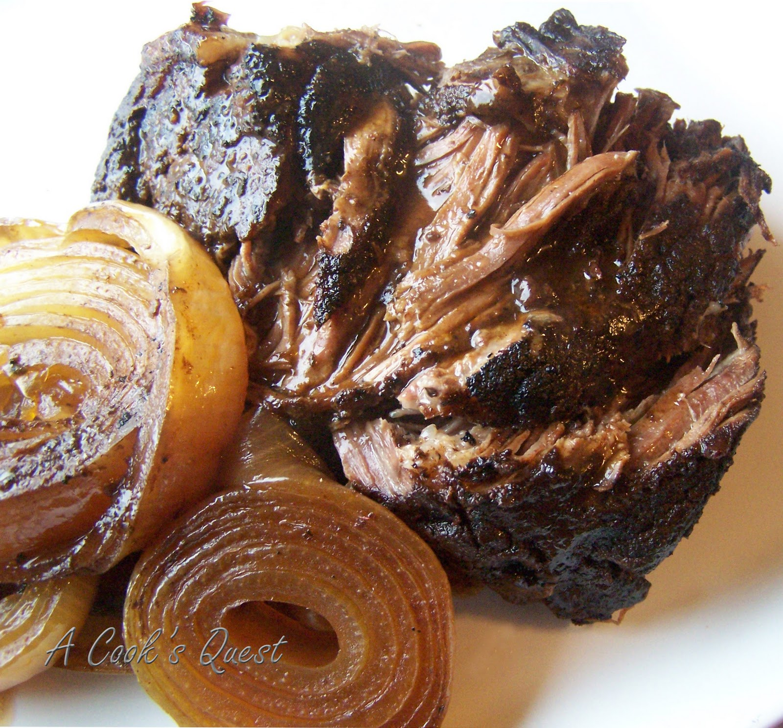 Cook's Quest: Balsamic and Onion Pot roast