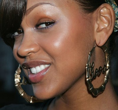 I have always admired Actress Meagan Good's skin.