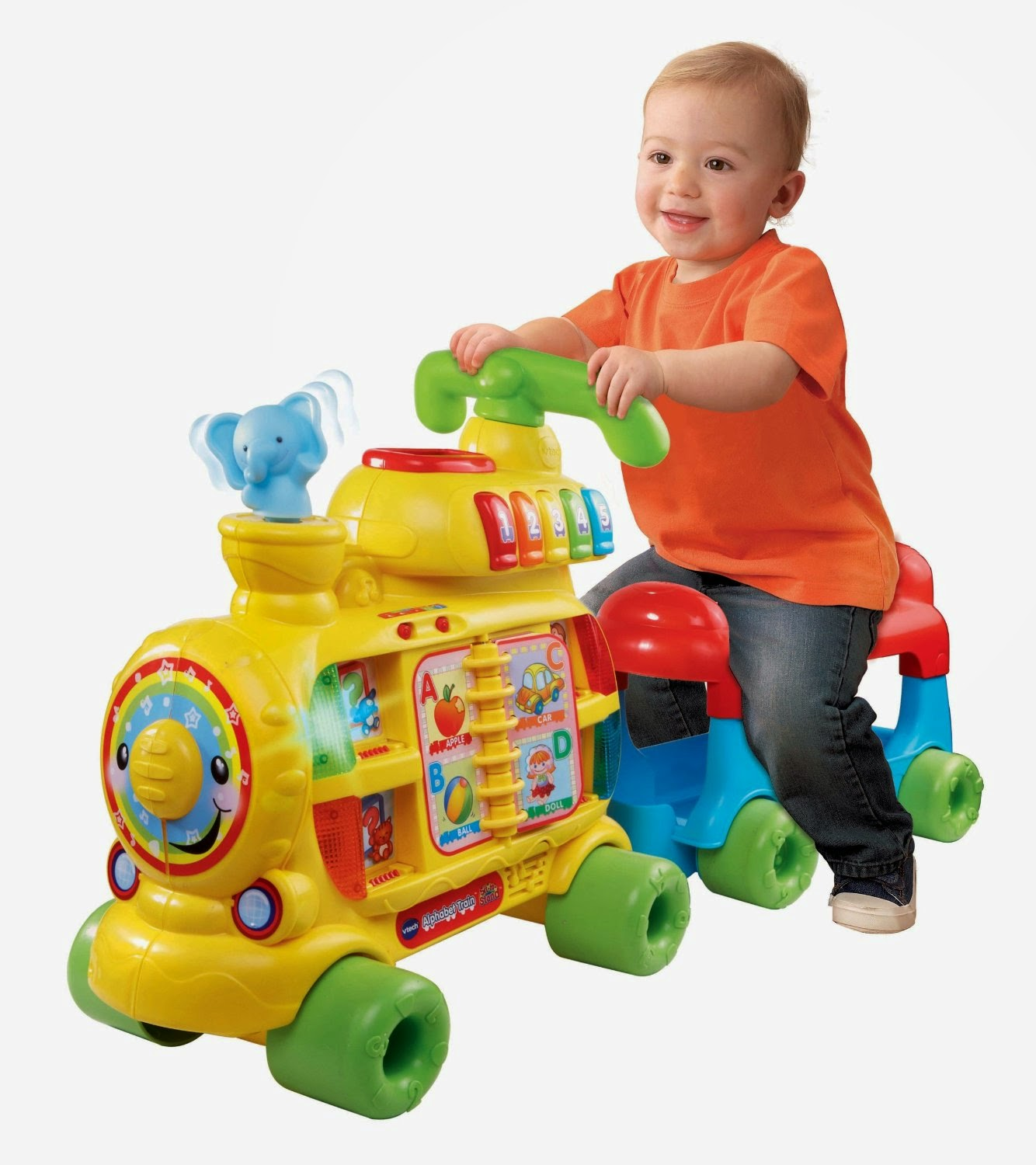 VTech Sit to Stand Alphabet Train a great way to learn the ABCs