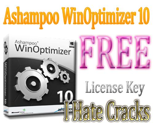 Get Ashampoo WinOptimizer 10 With Legal License Key