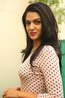 Actress Sakshi chowdary Latest Pictures in Jeans at James Bond Press Meet  17