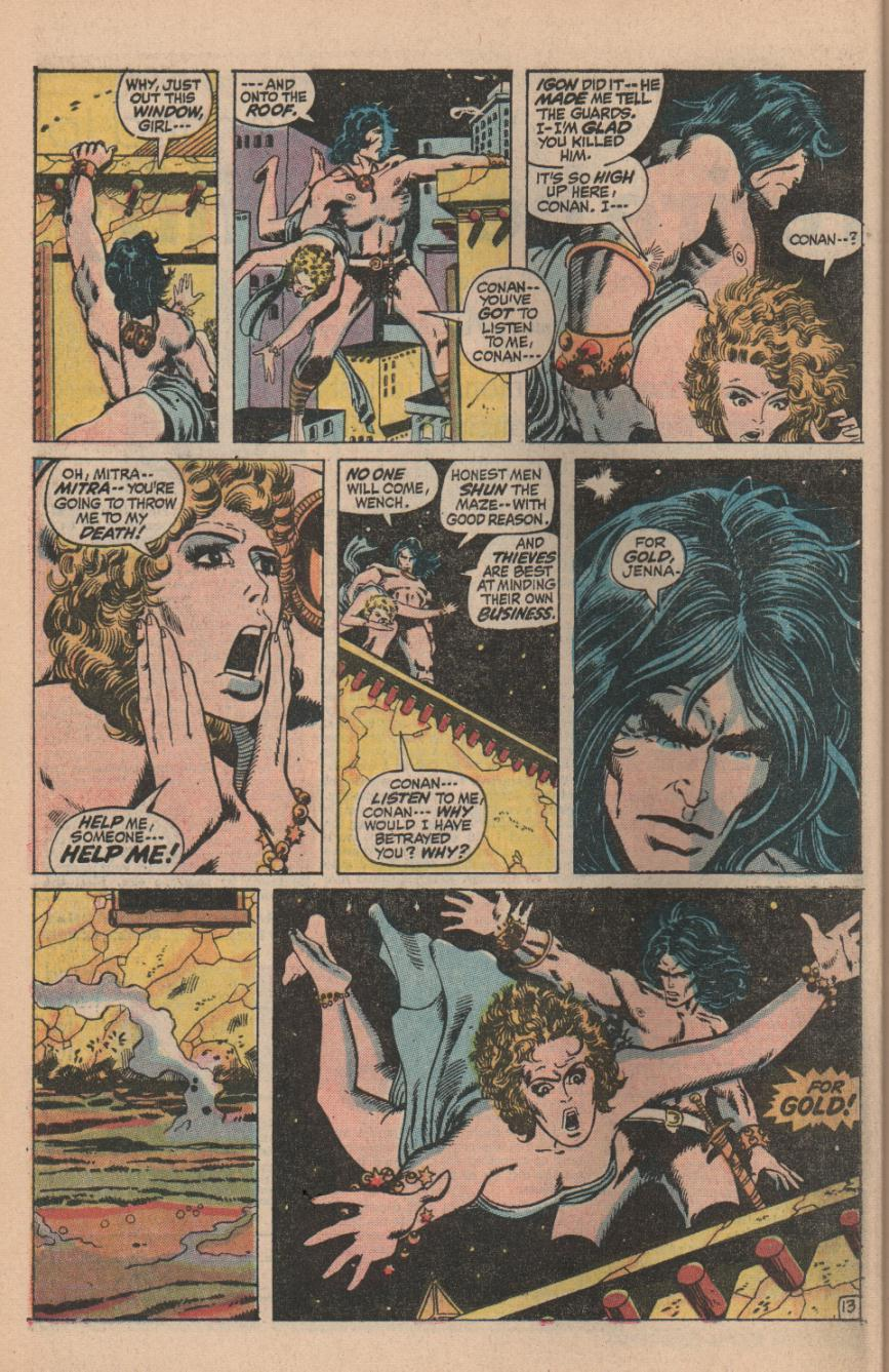 Conan the Barbarian (1970) Issue #11 #23 - English 18