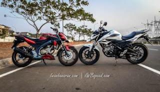 Adu Drag Yamaha NVA Vs Honda New CB 150R