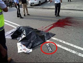 Gambar No  pendaftaran kereta yang melanggar Rafizi Hamdan