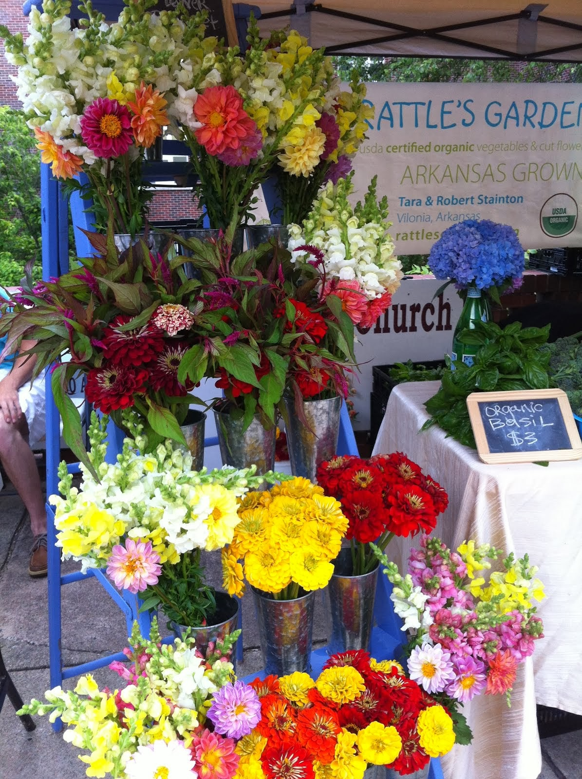 Market bouquets
