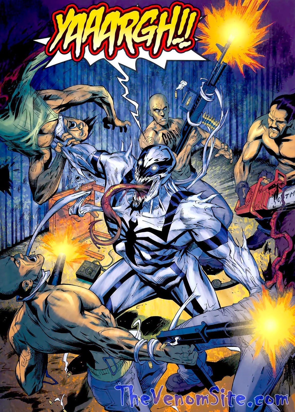 Follow Anti-Venom and Jenna Cole's adventures with the Punisher in The Amazing Spider-Man Presents: Anti-Venom: New Ways to Live