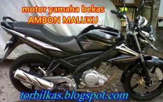 Jual Motor Yamaha bekas di Ambon
