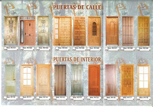 Puertas de madera septiembre 2012 for Modelos de puertas de calle