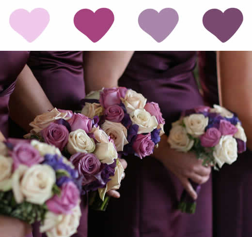 Decoração de Casamento  LilásRoxo