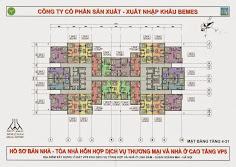 Thiết kế căn hộ vp5 linh đàm