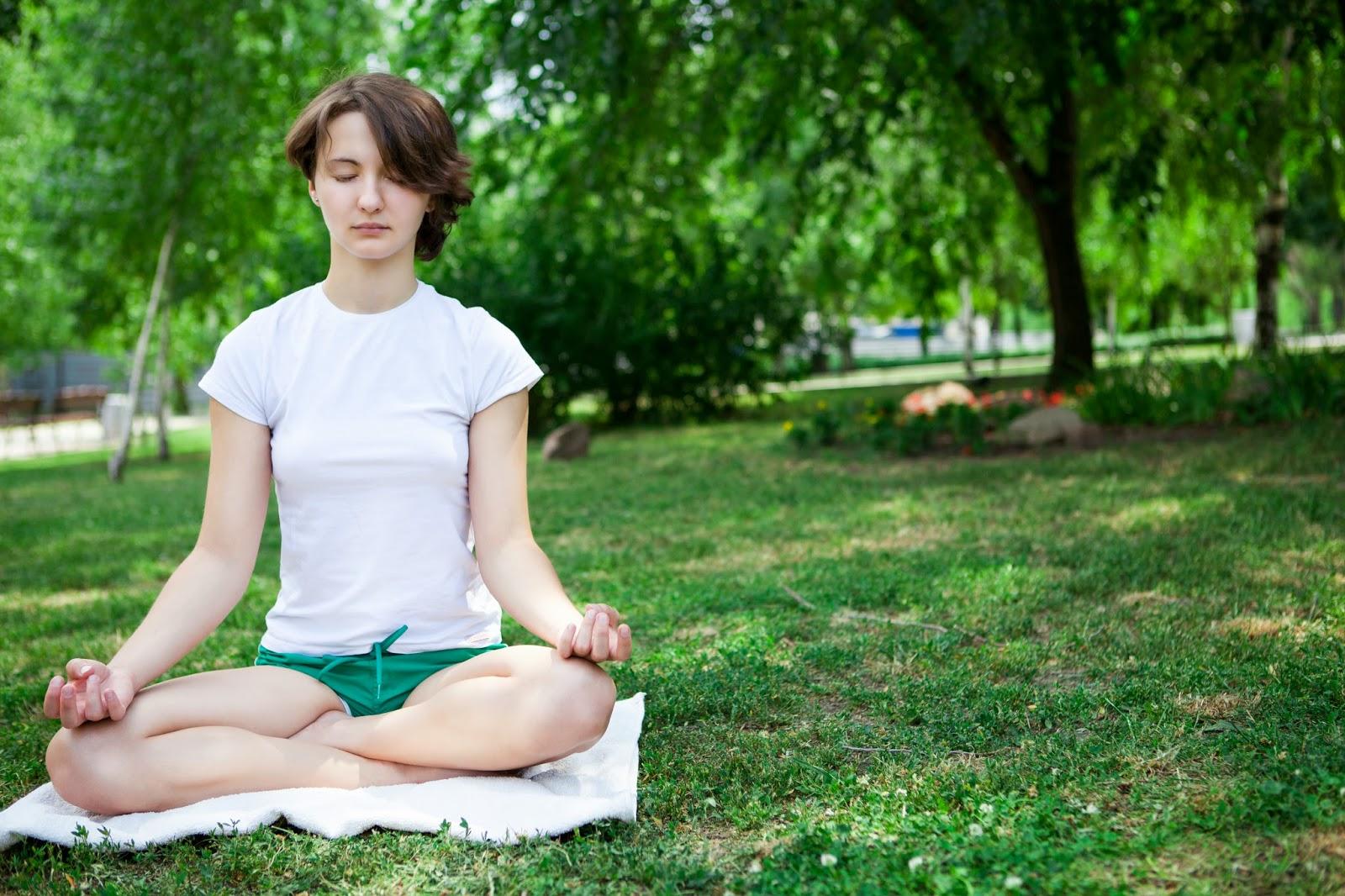 meditation lotus position