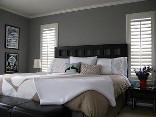 Desain Kamar Tidur dengan Warna Bumi