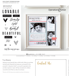 Close to My Heart Operation Smile Stamp Set