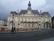One of the beautiful and historical buildings in Tours, France