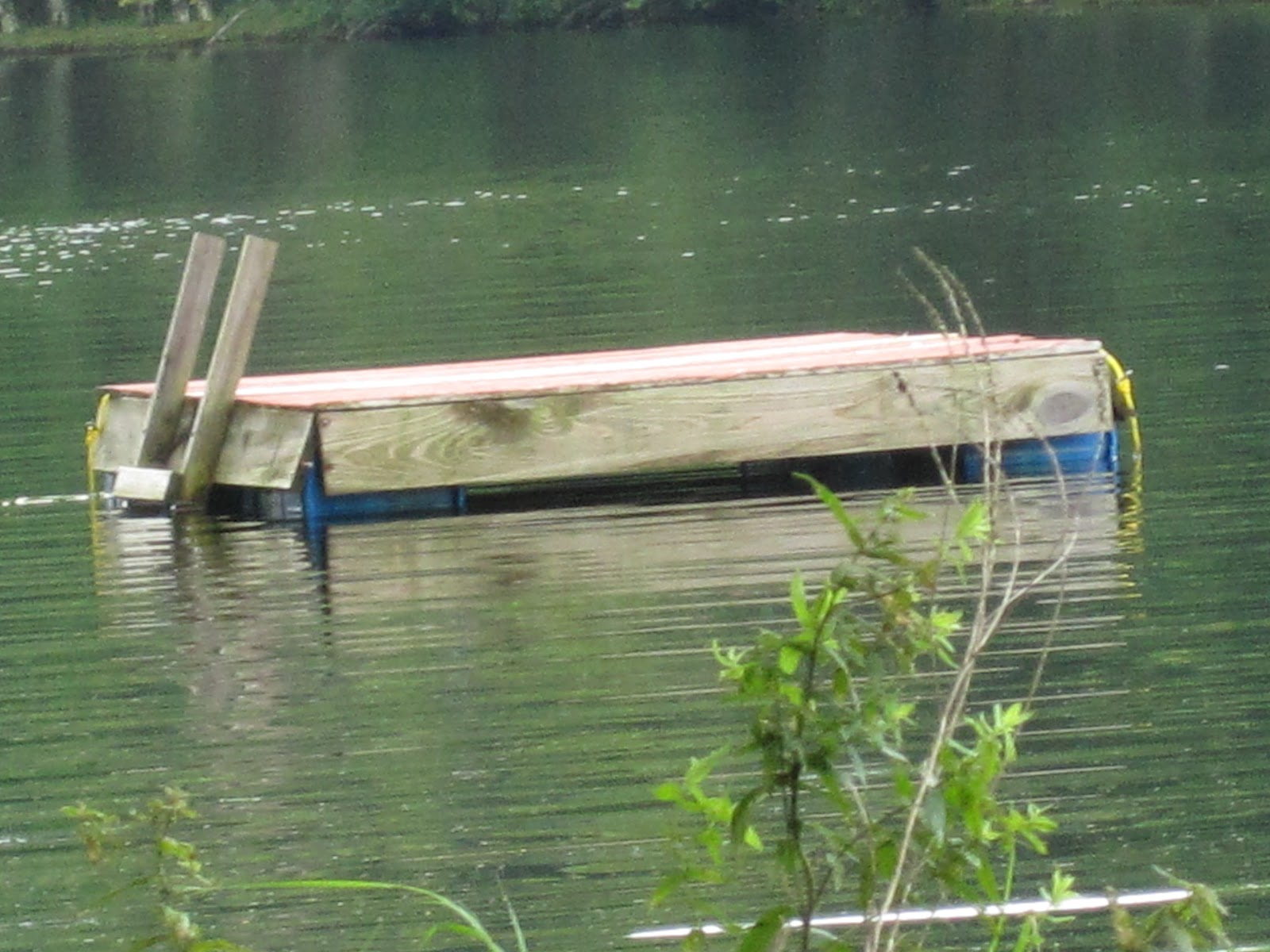 Ny nc how to build a small boat dock for Building a small pond