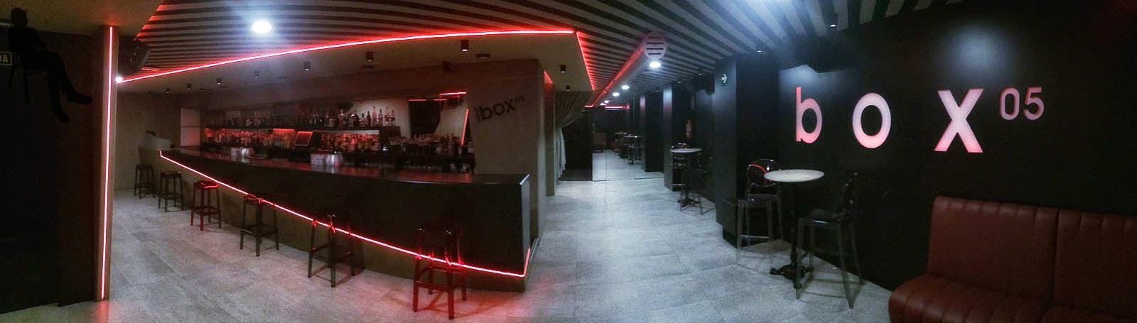 César Fuentes Zatón. Diseño de interiores box05. Ferrol A Coruña