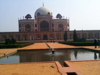 Humayun Tomb, I love delhi