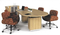 Global Total Office Zira Powered Table