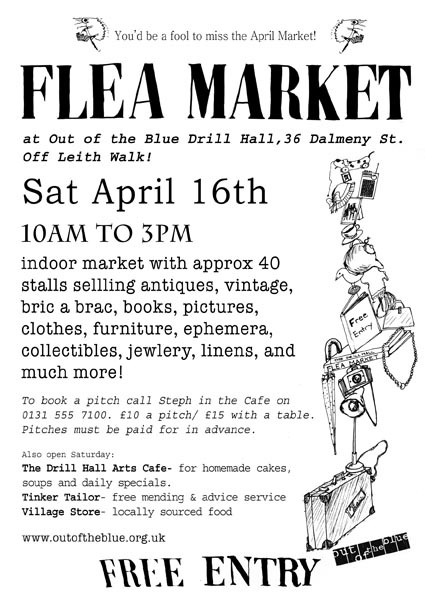 Out Of The Blue Flea Market Next Flea Market Only 2 Weeks To Go