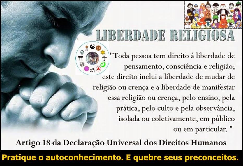 Liberdade Religiosa...