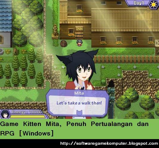 Game Kitten Mita, Penuh Pertualangan dan RPG [Windows]