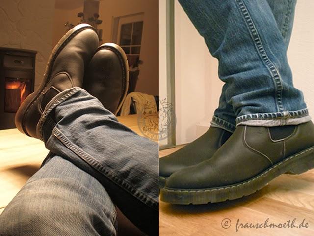 frau s ver ndert die welt mit chelsea boots. Black Bedroom Furniture Sets. Home Design Ideas