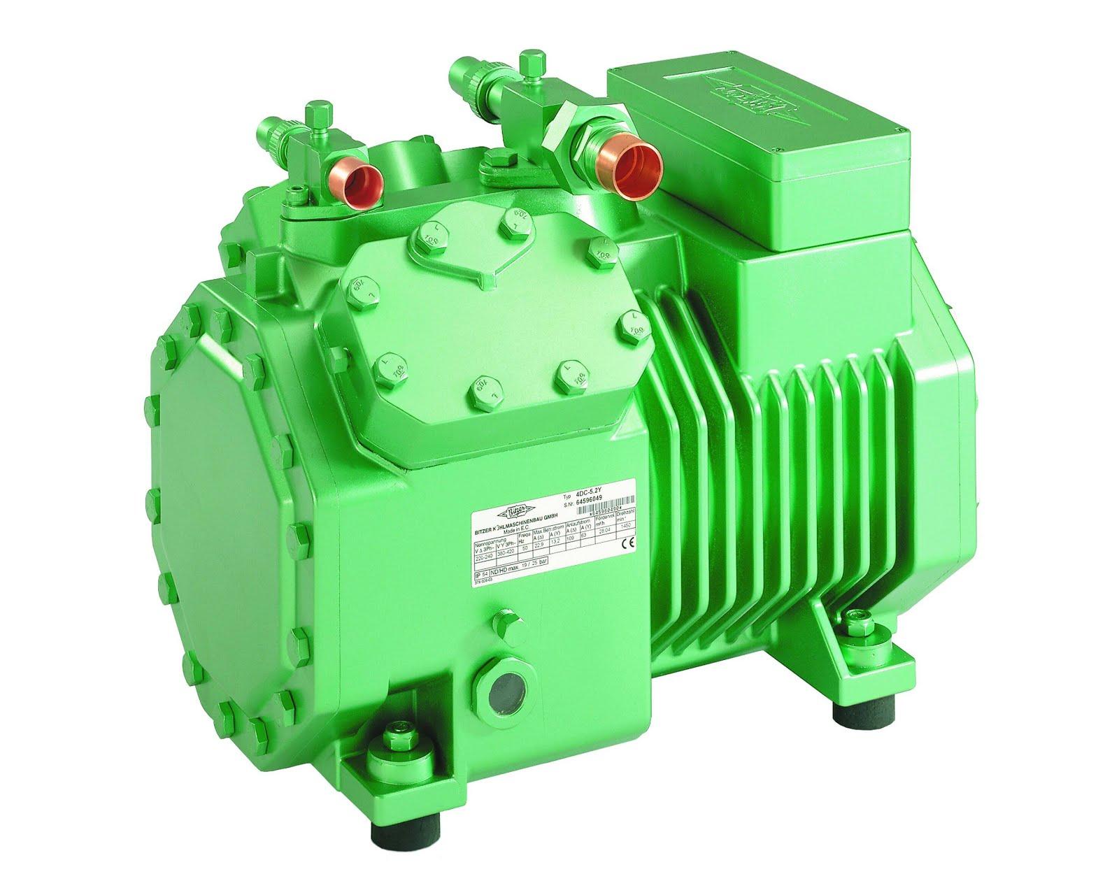compressor semi hermetique, for coldstorage & water chiller