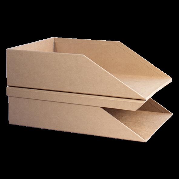 Charola Porta Documentos 2 Niveles